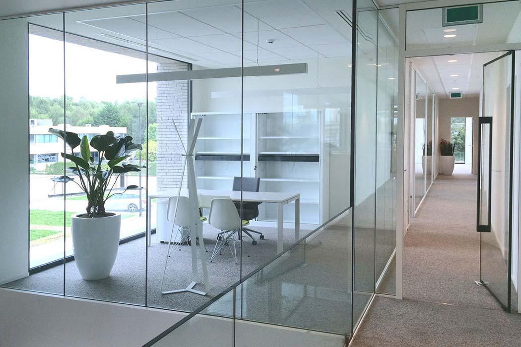 Lunax fire resistant glass doors