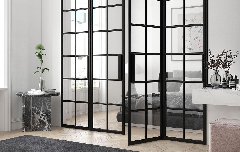 Internal Crittall Glass Doors
